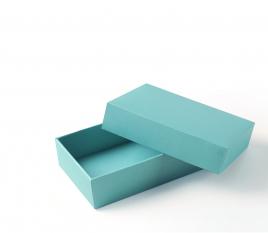 Boîte carton rectangulaire doublée