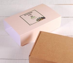 Boîte pour huile avec bandeau
