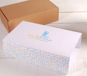 Grande boîte avec bandeau pour enfants