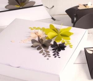 Boîte 3D décorée