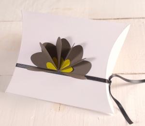 Boîte cadeau décorée 3D