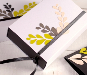 Boîte cadeau floral