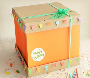 Boîte pour grande tarte