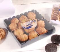 Boîte à cookies, biscuits et macarons