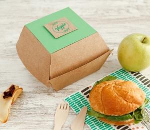 Boîte pour hamburgers