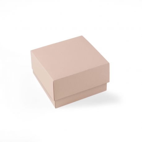 Boîte carton carrée doublée