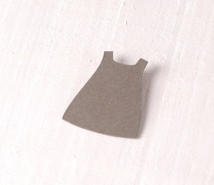 Robe de Fille en Carton 10 pcs.