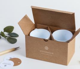 Boîte pour des tasses M