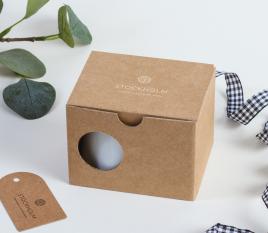Boîte carton pour tasse à café