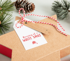 Étiquettes de cadeaux de Noël
