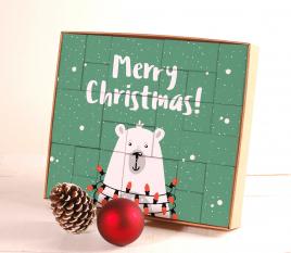 Calendrier de l'Avent Merry Christmas
