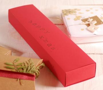 Idée boîte de Noël rectangulaire pour lettre