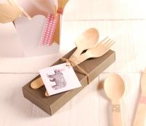 Boîte carton pour détails de mariage
