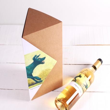 Décoration boîte triangulaire