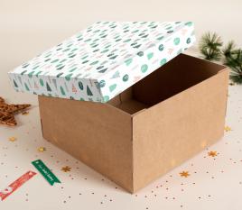 Boîte Noel pour chapeaux