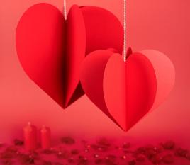 Cœur à suspendre