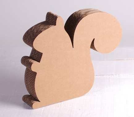 Écureuil Carton