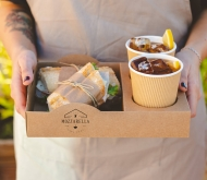 Barquette empilable street food en carton