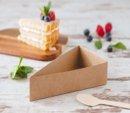 Boîte pour portion de tarte