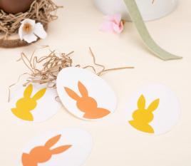 Autocollants Œufs de Pâques