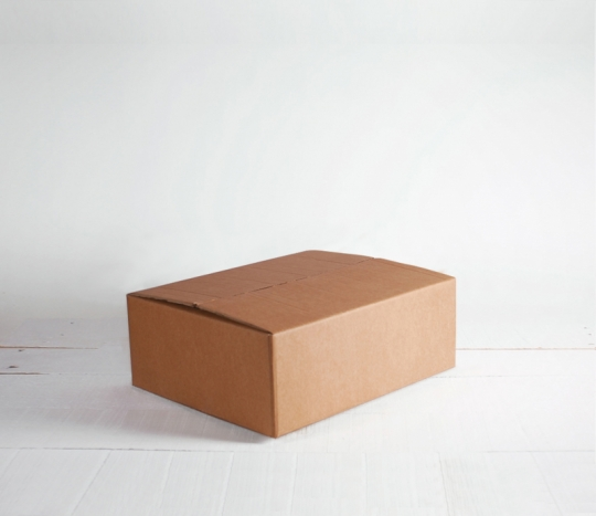Boîte en carton rectangulaire