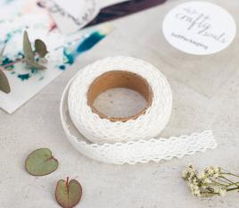 Fabric tape de dentelle brodée
