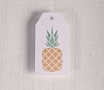 Étiquettes imprimées Ananas