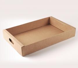 Barquette en carton pour fruits et légumes