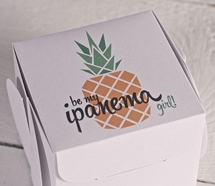 Boîtes cadeaux Ananas