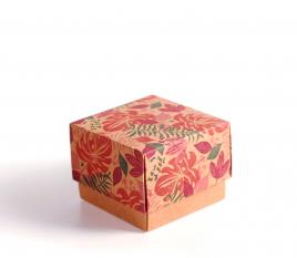 Boîte carton carrée pour montres