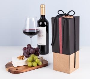Boîte pour bouteilles de vin premium
