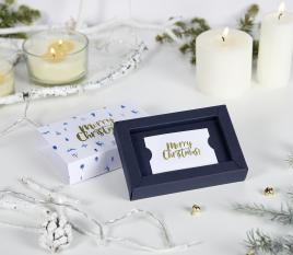 Boîte pour cartes de Noël