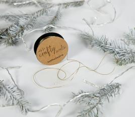Ficelle dorée pour cadeaux