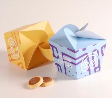 Boîte amusante pour biscuits