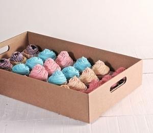Plateau à cupcakes en carton