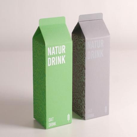 Boîte pour boisson faite maison