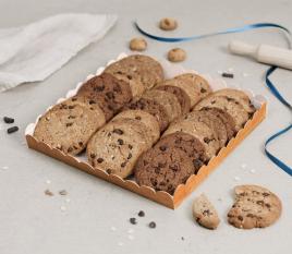 Plateau en carton pour biscuits