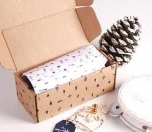 Boîte de Noël pour parfum