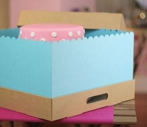 Jolies boîtes à gâteaux