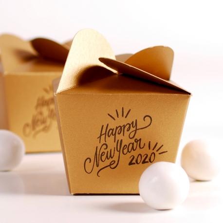 Boîte petit cadeau réveillon