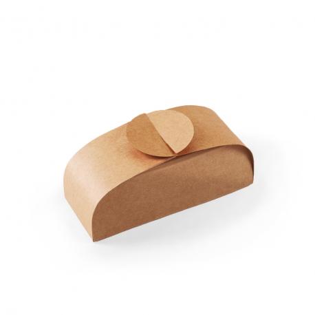 Boîte en carton élégante pour sushis