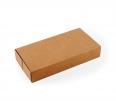 Boîte en carton allongée pour sushis avec bandeau