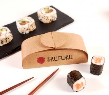 Boîte trois unités sushis