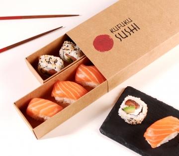 Boîte sushis compartiments