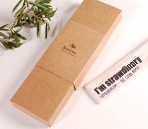 Boîte pour pailles réutilisables