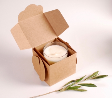 Boîte pour bougies artisanales