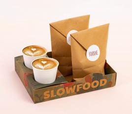 Barquette empilable street food en carton