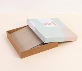 Boîte carton pour album photo