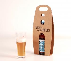 Boîte individuelle pour bière avec impression