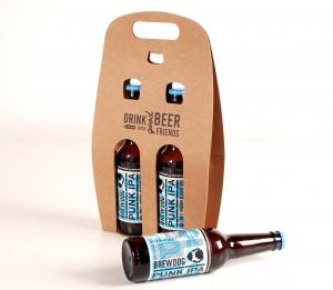 Boîte pour deux bières à personnaliser